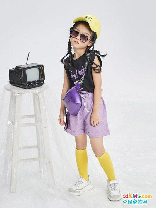 要想做个酷小孩 就穿西瓜王子童装