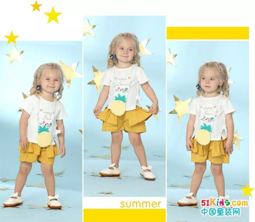 拥有黄色的夏季 宝贝秒变时尚小达人