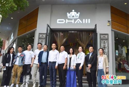 瓯海商务局局长谢东、副局长姜方泽莅临我司指导交流