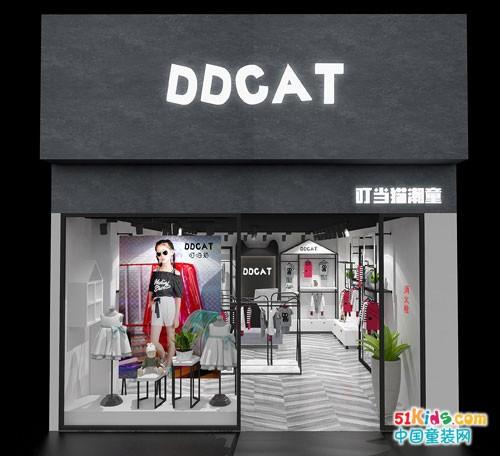 叮当猫潮童加盟 灵性创意的店铺装修GET一下