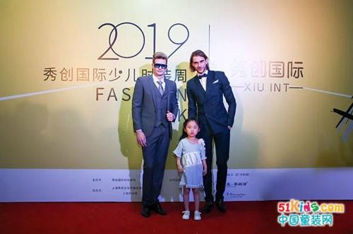 卡琪屋童装亮相上海秀创国际少儿时装周啦!