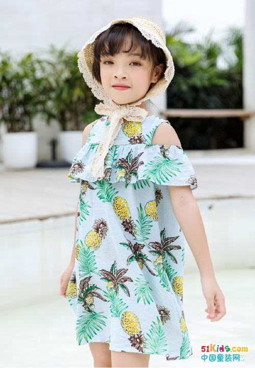 林馨儿童装 像花儿一样绽放