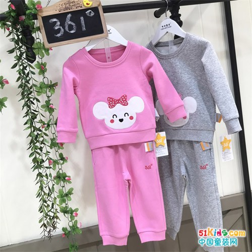 广州童装批发市场361度品牌折扣童装尾货拿货几折
