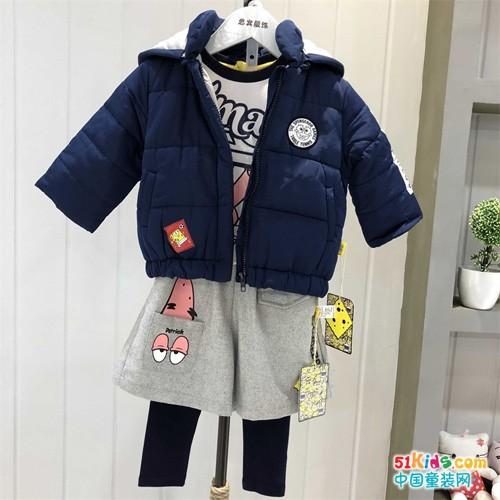 国际大品牌海绵宝宝童装厂家进货渠道