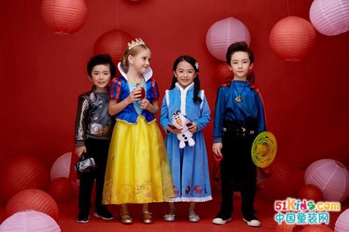 动漫卡通装扮服饰,超级IP童装:Dream Party