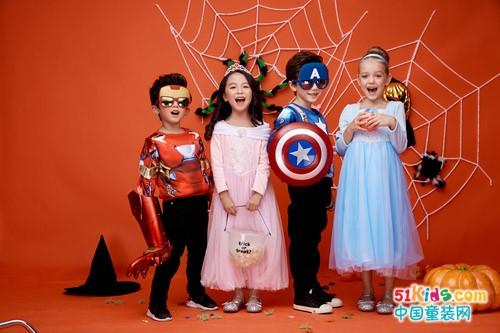 动漫卡通装扮服饰,超级IP童装:Dream Party梦幻派对品牌加盟