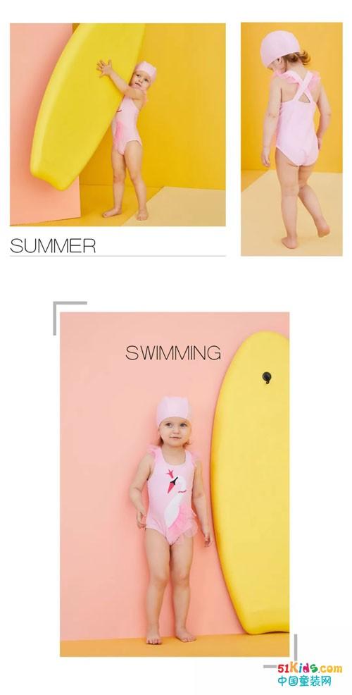 GB KIDS好孩子夏日新品泳衣:Happy Summer Time