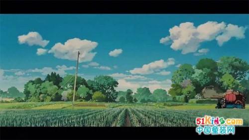 拉比LABIBABY丨宫崎骏动画风的夏天,在小美衣…