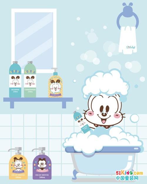 宝宝夏季洗澡护肤 巴布豆洗护有大招