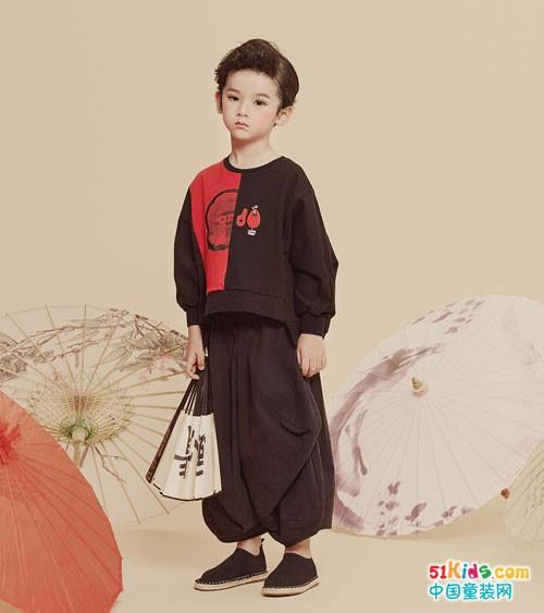 古典韵味的JOJO童装,也能这么美