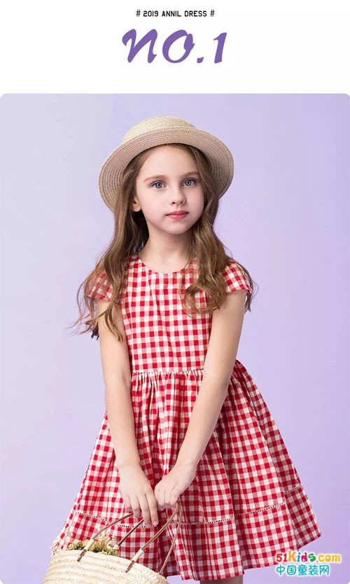 ANNIL简约风连衣裙 把甜美写进日常的每一天