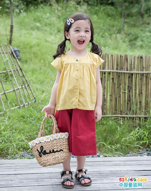 安米莉童装 盛夏时节的清新味道