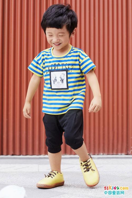 塔哒儿童装简约舒适 始终不变的追求