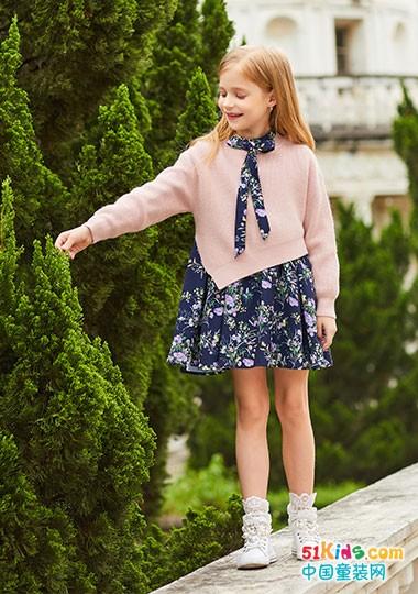 卡儿菲特童装 这样的秋装搭配美美哒