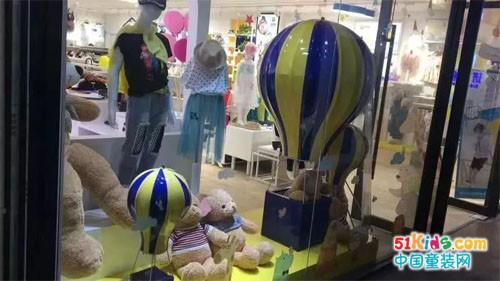 班米熊童装新店开业,俘获熊孩子们的心!