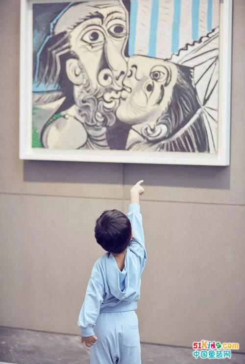 """YeeHoO英氏""""艺术童装""""天秀走进毕加索展!"""