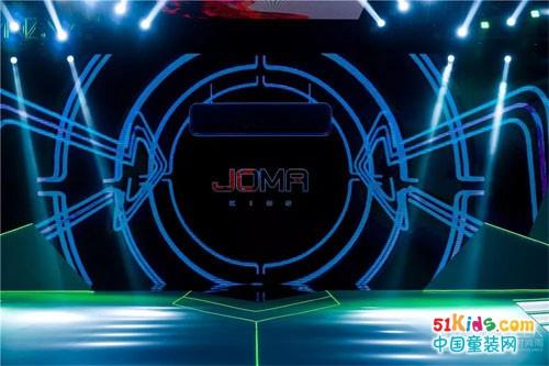 JOMA KIDS 2019A/W秀場:地球能量漩渦