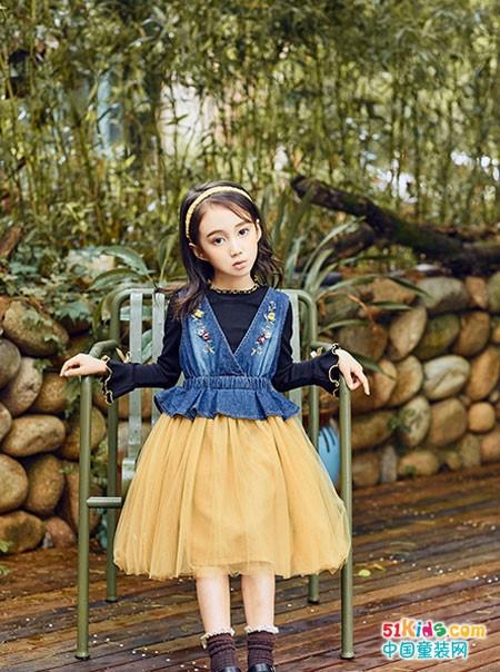 这一季的童话印记童装,穿在身上美美哒