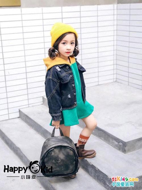 小嗨皮童装秋款上新 实用与时尚兼备