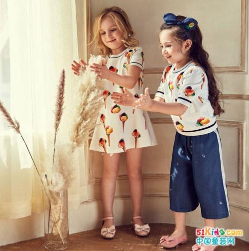 安娜与艾伦童装 穿出童年率性之美
