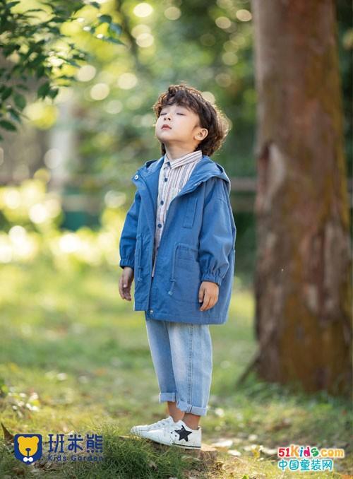 班米熊童装 一年四季,穿越时光之美