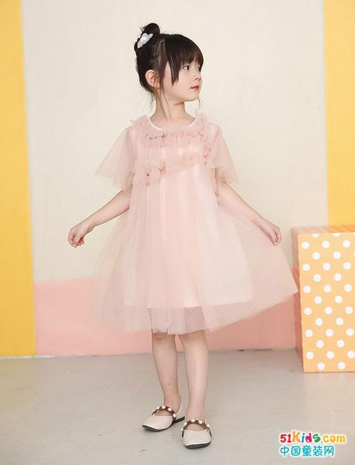 BABYCNQ童装 这样穿美成小仙女