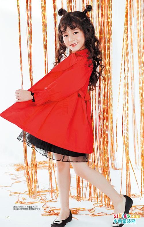 海威迩童装 红白黑三色演绎经典穿搭