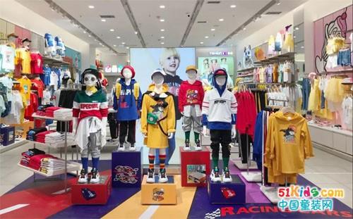 以纯童装20店连开,全国布局开启全速模式