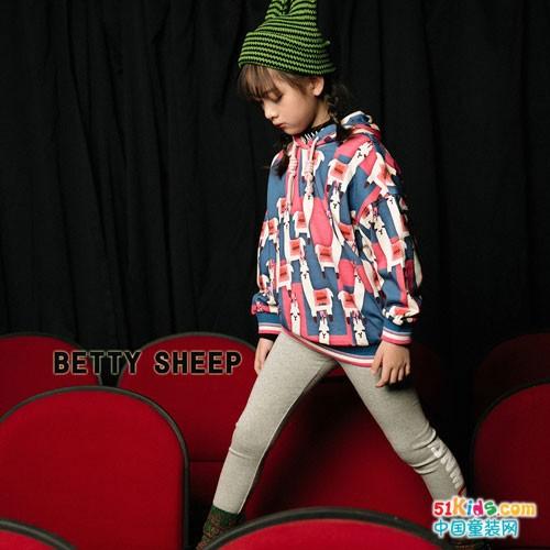 贝蒂小羊童装 更多的爱给可爱的孩子们