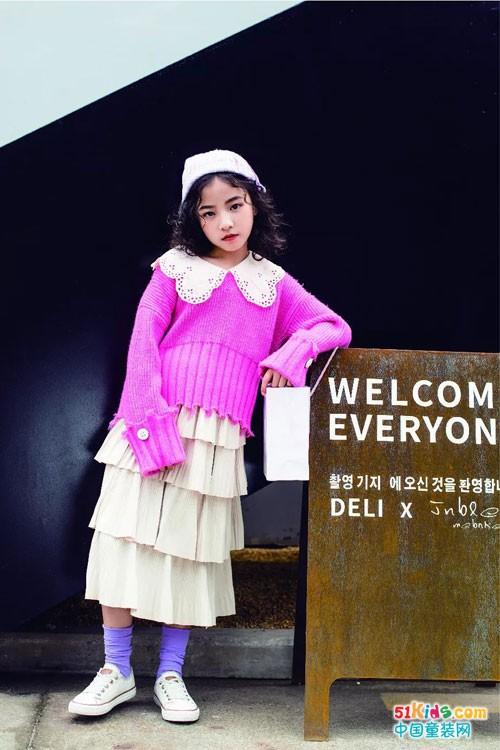 林馨儿童装 最美秋意配最美针织系列