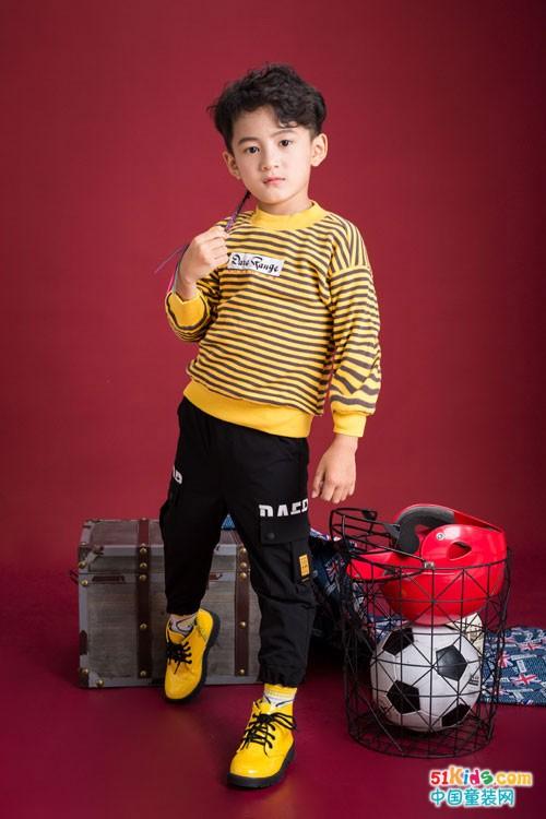 塔哒儿童装 带你领略深秋的色彩