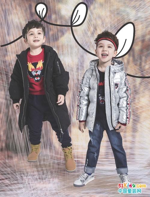 水孩儿童装秋冬款上新 都是喜欢的款式
