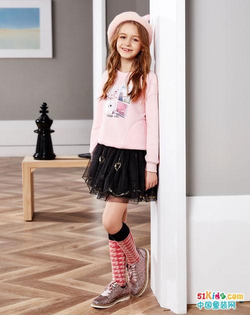 巴柯拉童装 穿出时尚的甜美气质