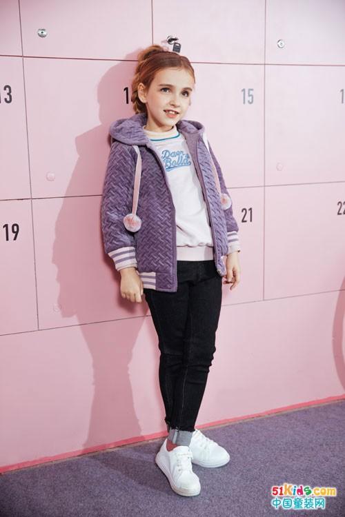 塔哒儿童装冬季新款,不止保暖还有活泼因子