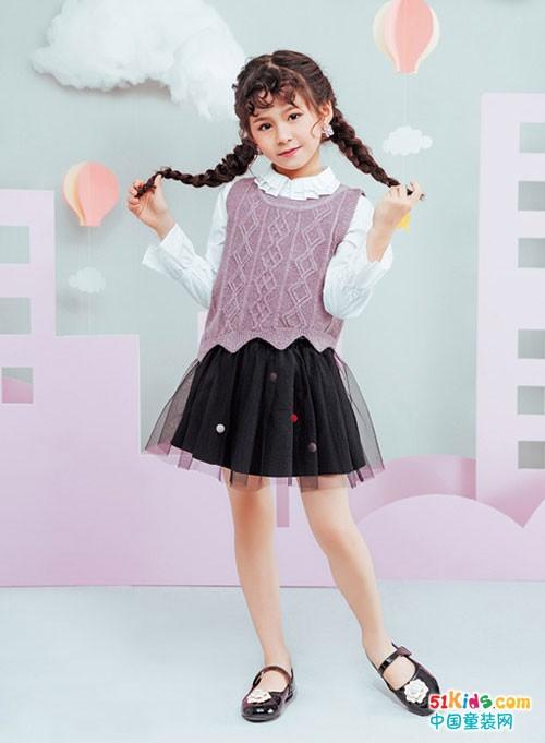 装点美丽时尚Girl 来自海威迩童装的礼物