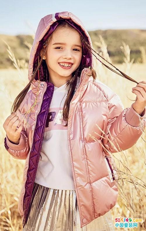 水孩儿童装 冬季暖融融的单品