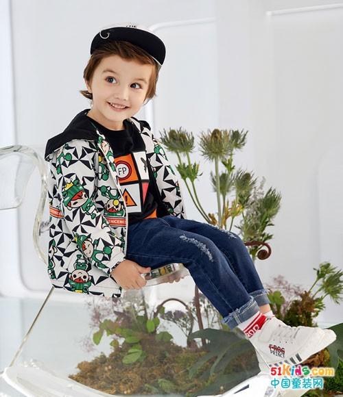 NEW ARRIVAL 小朋友们喜欢的青蛙王子童装