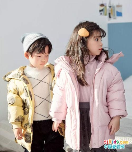 苏格马可童装冬季新品 暖暖的很可爱