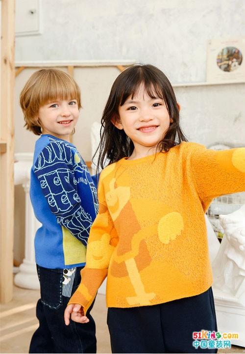 马拉丁童装:满足小朋友的色彩心愿!