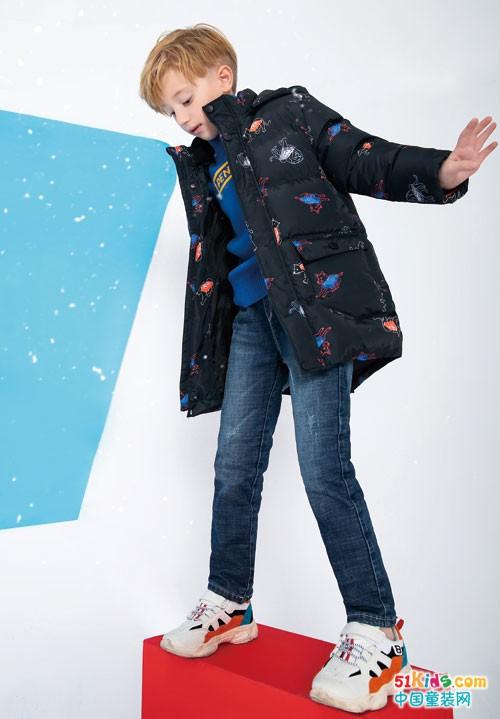 铅笔俱乐部童装 让冬装穿出时尚活力