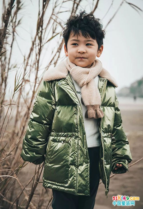 """贝贝依依棉服温柔又温暖,做个冬季里的""""暖宝宝"""""""