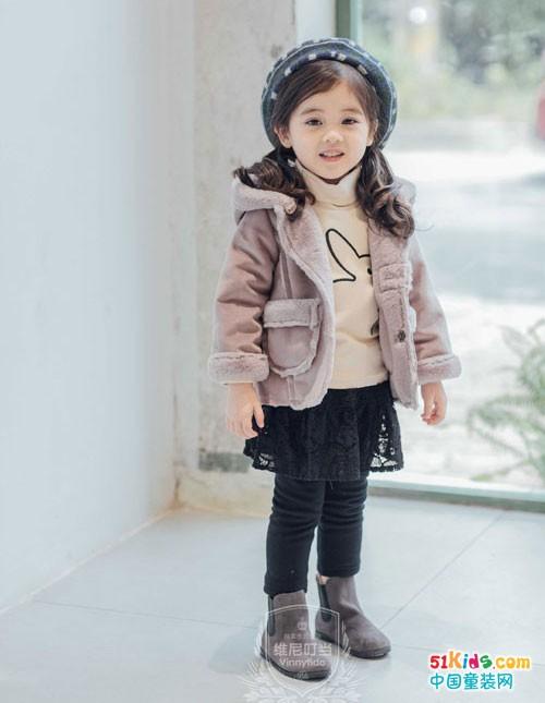维尼叮当童装 可御姐可萝莉就是这么可爱的小贵族范