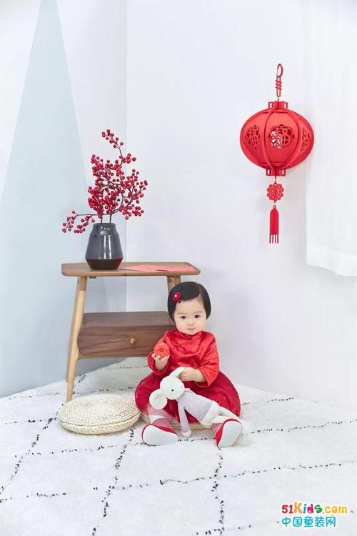 YeeHoO英氏丨鼠年新年装驾到,更有同款茉力娃娃!