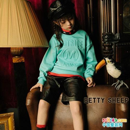 贝蒂小羊童装加盟 带给小朋友一个时尚快乐的童年