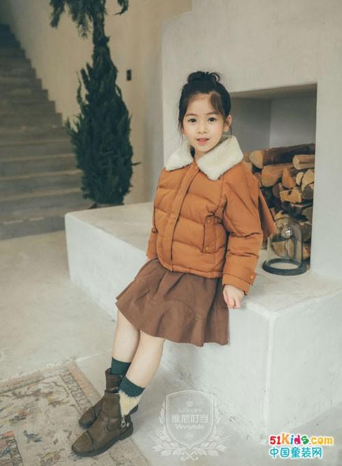 维尼叮当童装 这样穿既温暖又贵气
