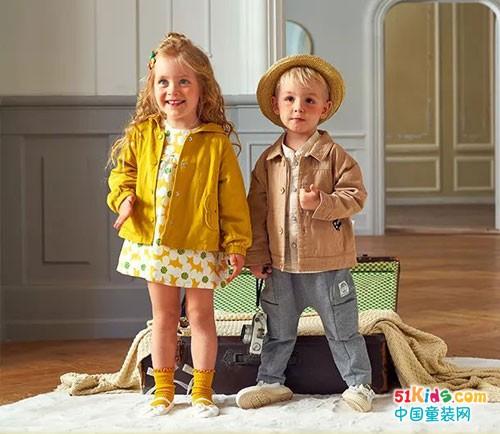 可拉比特童装 孩子们的世界级穿搭