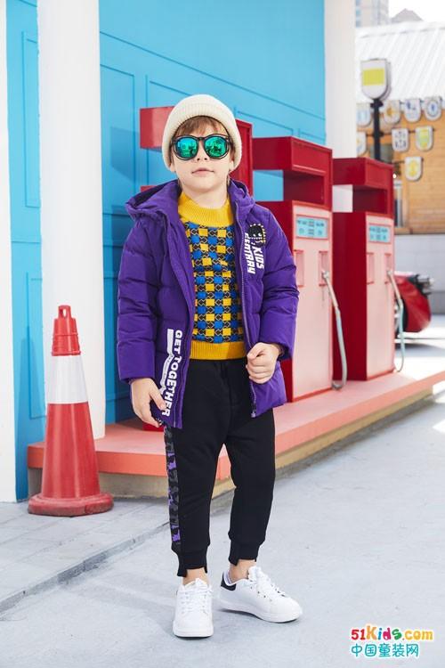 杰米熊童装 魔性童装穿起来,变身万能的魔法师