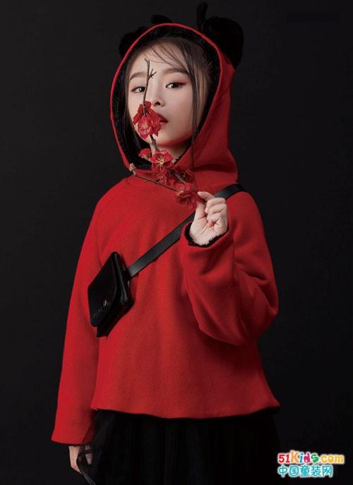 JOJO童装 年味里怎能缺少中国红