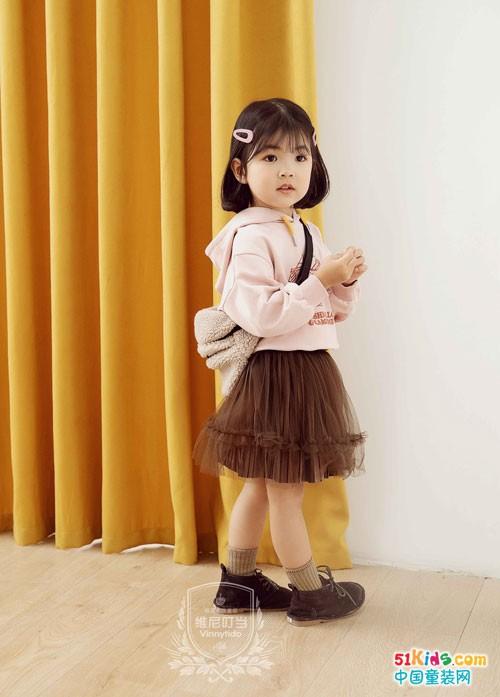宝妈们看过来 维尼叮当童装2020春甜美上市