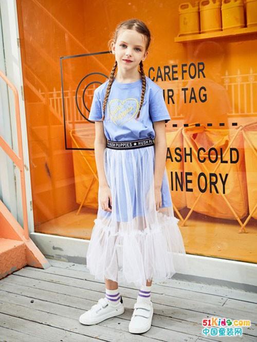 暇步士童装,春天里的优雅舒适范